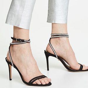 Schutz   Carmecita Ankle Strap Heeled Sandals